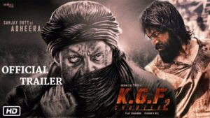 KGF 2 Movie First Poster